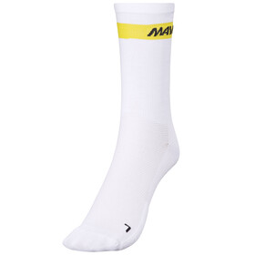 Mavic Cosmic High - Chaussettes - blanc